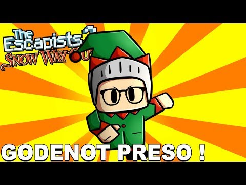 PRISÃO DO PAPAI NOEL - The Escapists 2 - Snow Way Out