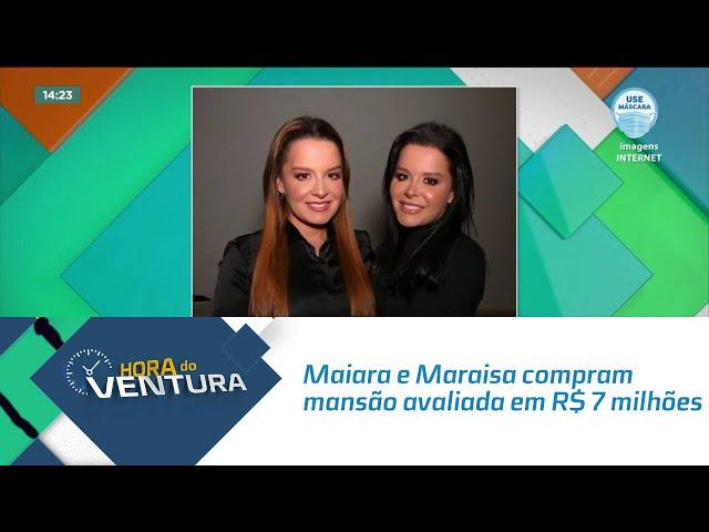 Maiara e Maraisa compram mansão avaliada em R$ 7 milhões de reais