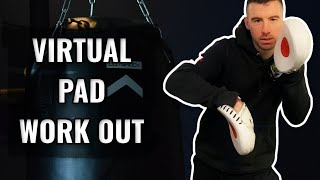Virtual Pad Work | 10 Minute At Home Workout Out