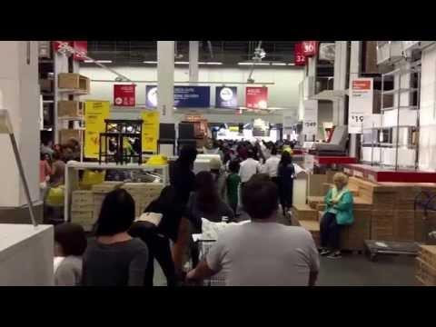 IKEA lines, Red Hook, Brooklyn, New York (10-11-15)