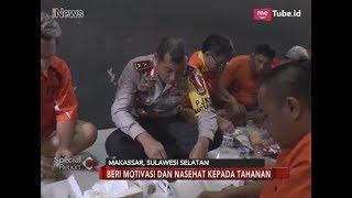 Kapolda Sulsel Makan Bareng Tahanan di Dalam Penjara - Special Report 09/03
