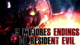 Los 5 Mejores Finales de Resident Evil.