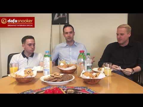 Dafasnooker's Breakfast with the Boys London Snooker Special!