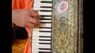 Уроки простой игры на аккордеоне с Ананта Нитаем часть 1