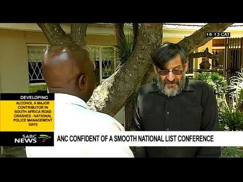 ANC confident of a smooth national list conference