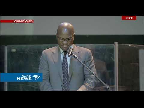 Minister Nathi Mthethwa at Akhumzi Jezile's funeral