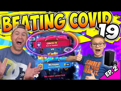 MY SON BEAT COVID trying to WIN AN X-BOX! Ep. 2