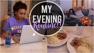 My Evening Routine Fall 2016 | NitraaB