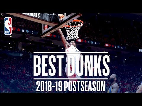 Best Dunks | 2019 NBA Playoffs