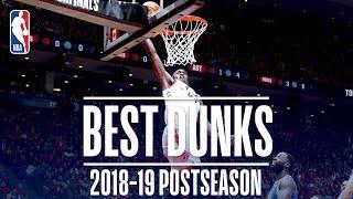 Best Dunks | 2019 NBA Playoffs Video