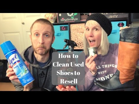 How to Clean Used Shoes for Reselling or Personal Use