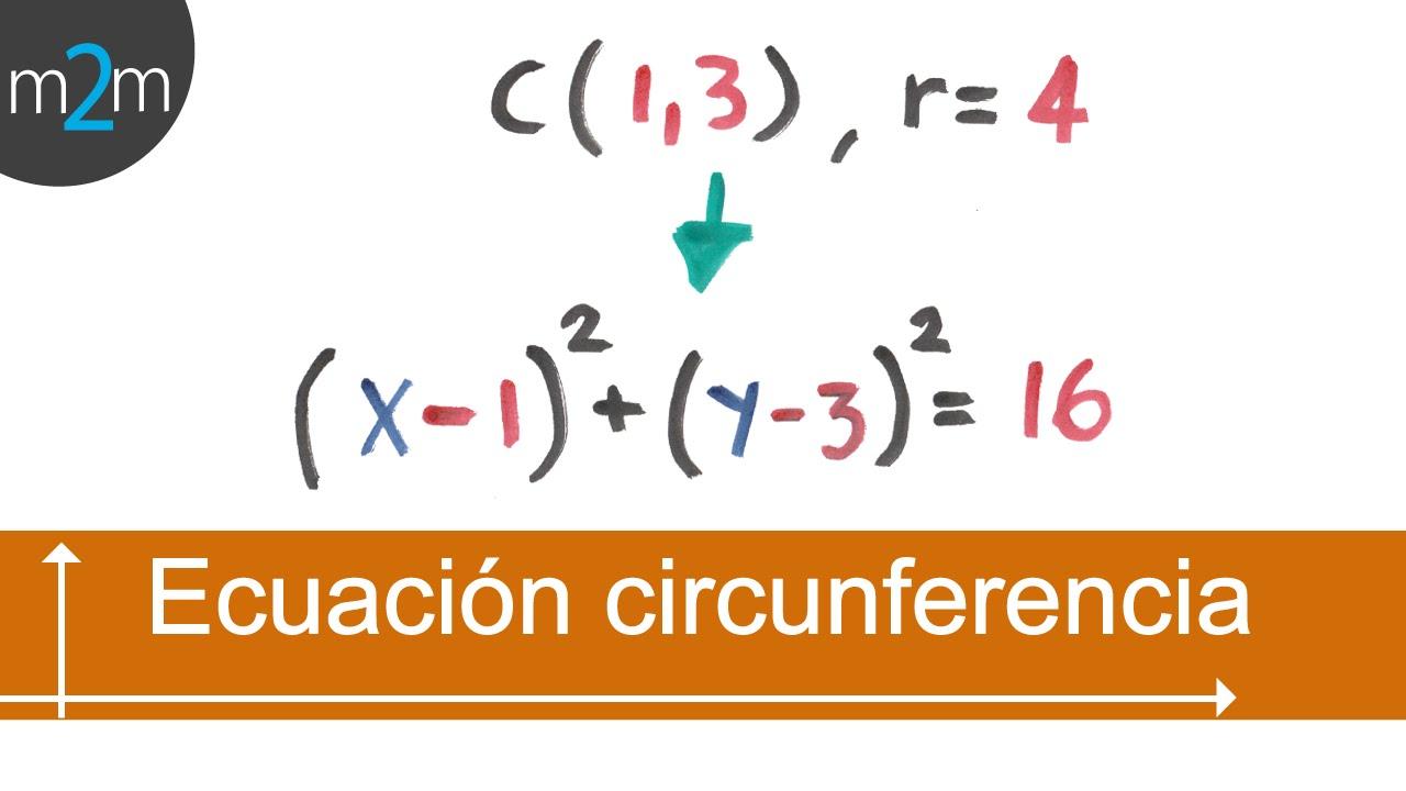 Ec de circunferencia dado centro y radio fuera origen for Significado de fuera