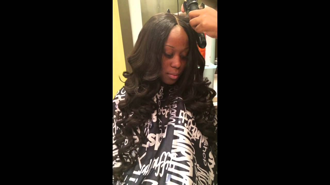 Lace Closure Install Using Glitzy Closure Installed By