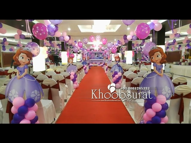 1st birthday party at golden apple khoobsurat events