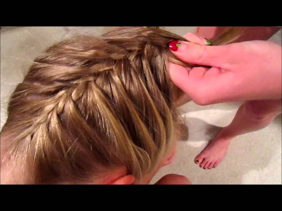 Upside down french braid youtube ccuart Choice Image
