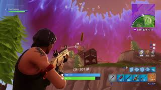 Fortnite Nintendo Switch Gameplay! First Game VICTORY ROYALE!