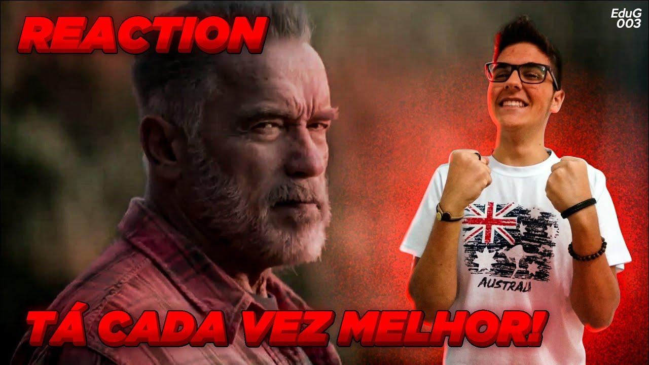 REACTION ao Trailer 2 Oficial de Exterminador do Futuro 3: Destino Sombrio!!!
