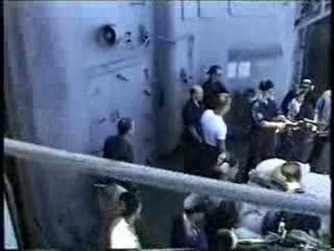 USS Lake Champlain CG-57 - Weapons Check