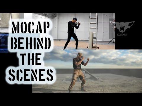 Kubold mocap - Behind The Scenes!