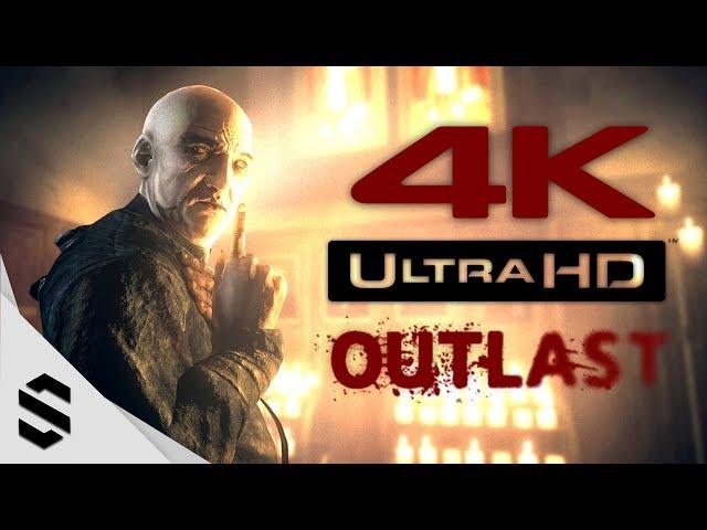 【絕命精神病院】4K電影剪輯版(中文字幕) - PC特效全開4K60FPS劇情電影 - Outlast All Cutscenes Movie - 逃生 - 最強4K無損畫質