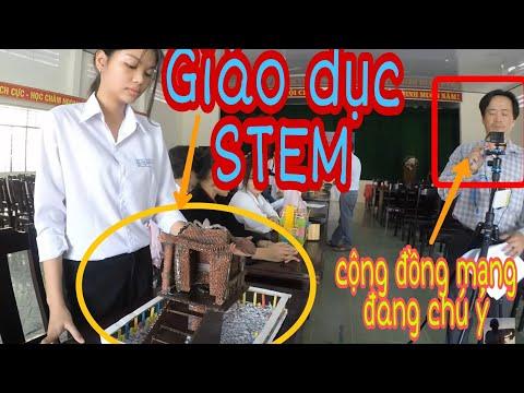 Thanh Niên Sáng Tạo Bất Ngờ Qua GD STEM Trong Nhà Trường