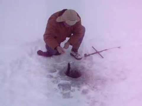 Ice Fishing in