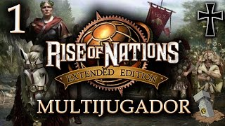 Rise of Nations: Extended Edition - 1ª Partida Multijugador [Romanos]