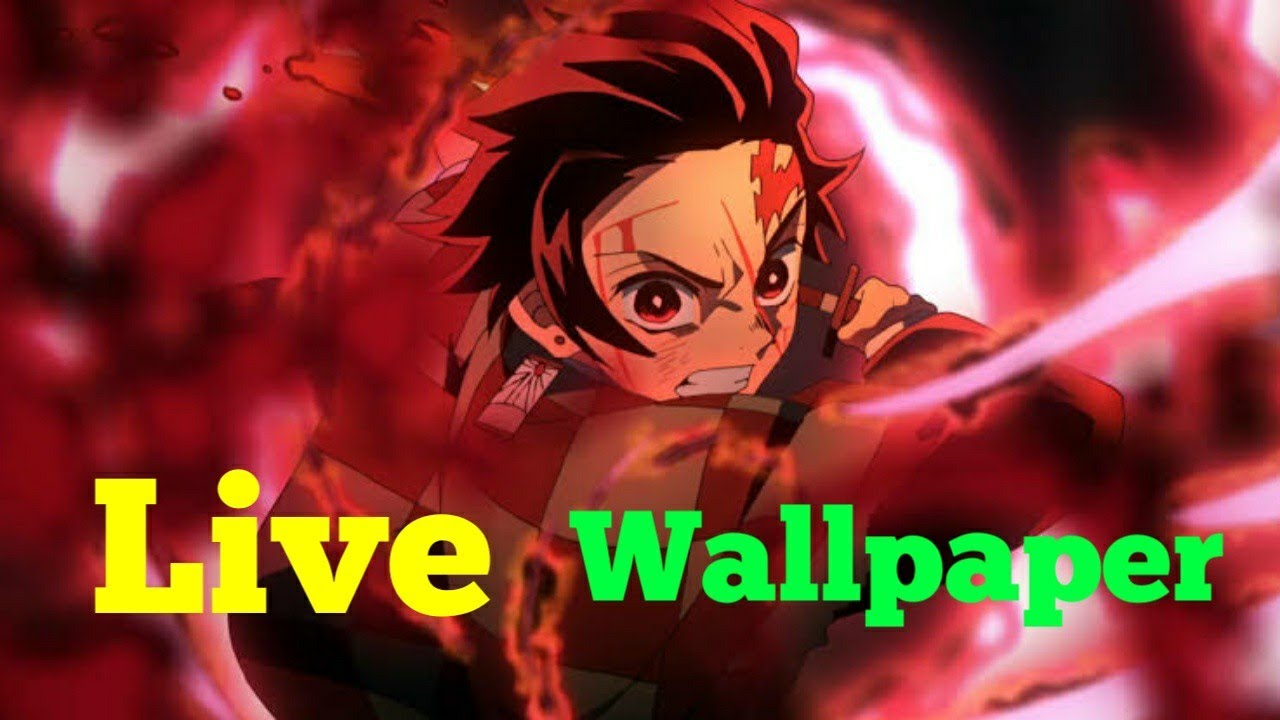 Best Anime Wallpapers Android Ios Demon Slayer And Other Anime Top 100 Anime Live Wallpaper 4k Youtube