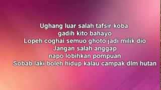 W A R I S feat Dato Hattan   Gadis Jolobu Lyrics