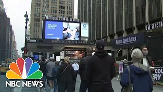 New York Early Voting Begins With Record Turnout   NBC News NOW