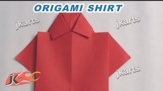 How to make Origami Shirt  for Father's day card / Teacher's day card | JK Arts 238
