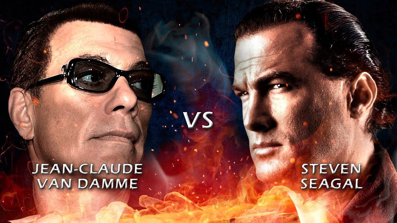 Jean-Claude Van Damme vs Steven Seagal // Quién es mejor ...
