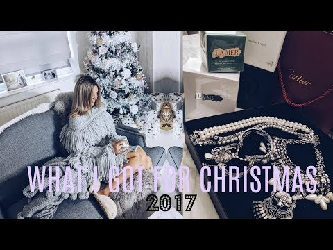 WHAT I GOT FOR CHRISTMAS 2017 | IAM CHOUQUETTE
