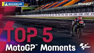 Top 5 MotoGP™ Moments by Michelin | 2021 #DohaGP