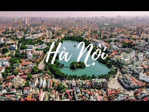 Hanoi - The City For Peace   Beautiful Vietnam   Flycam 4K