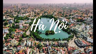 Hanoi - The City For Peace | Beautiful Vietnam | Flycam 4K