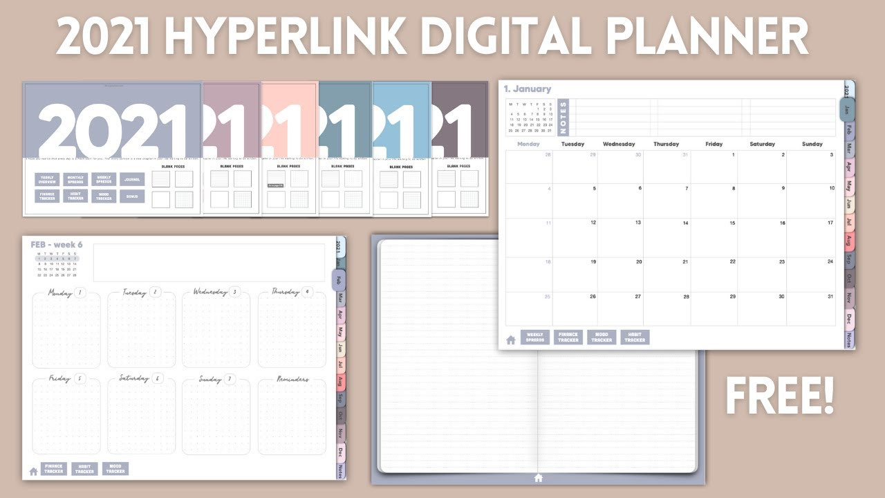 10 Jpg Planner Daily Planner Digital Planner 11