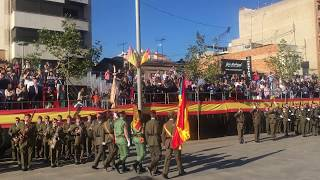 Entrada estendards jura bandera Vila-real 2017