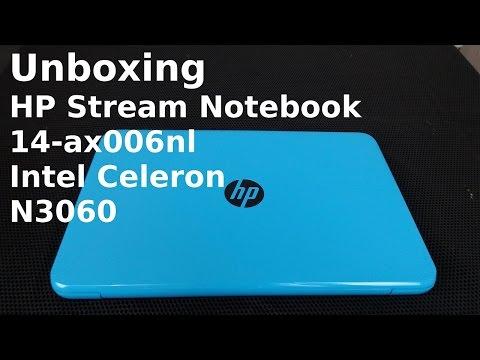 HP Stream 14 Ax006nl Notebook  Intel Celeron N3060