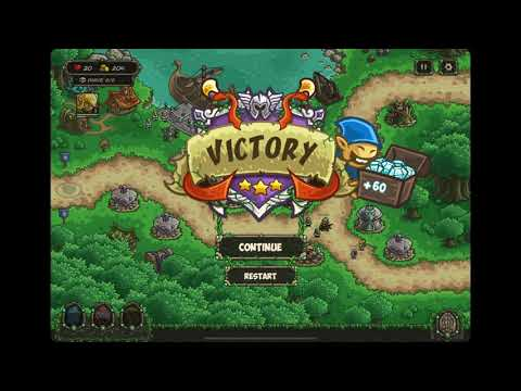 Kingdom Rush Origins Levels 1-2 |