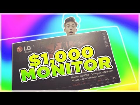 $1,000 GAMING MONITOR ( Unboxing )
