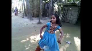 Bangladeshi Little Village Girl's Dance