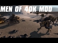 TAU CRISIS SUITS - Men of War 40K Mod