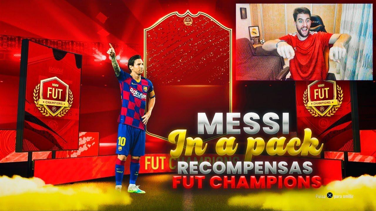 UN MESSI IN A PACK SIN ESPERARLO !! | RECOMPENSAS DE FUT CHAMPIONS