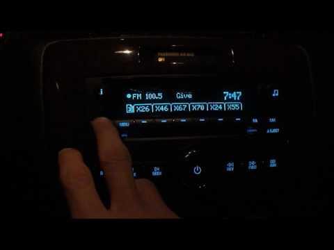 2010 Chevy Impala LT, does this radio have satellite radio?