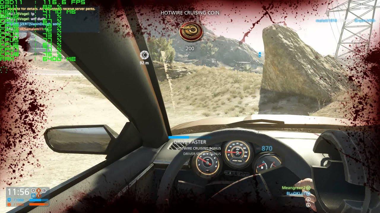 Battlefield Hardline (BFH) - XFX Radeon R9 295X2 - 1080p Ultra Settings  Gameplay Performance