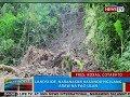 BP: Landslide, naranasan kasunod ng ilang araw na pag-ulan sa Pres. Roxas, Cotabato