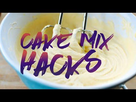 My Box Cake Mix Tricks   August 25th 2016