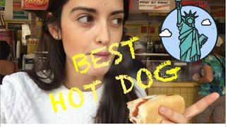 el MEJOR HOT DOG de Nueva York? Gray's Papaya