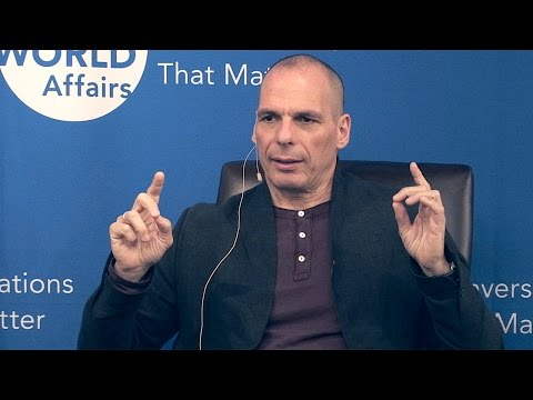 Yanis Varoufakis: Greece and The Future of the Eurozone